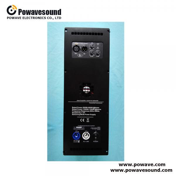 Buy D-1200S, speaker power amplifier module 1200w class D plate amplifier for subwoofer at wholesale prices