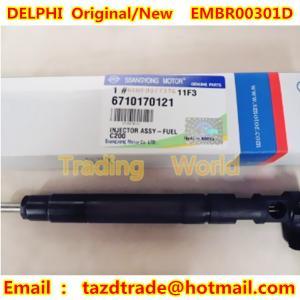 Quality DELPHI Original, New Injector EMBR00301D / A6710170121/ 6710170121 SSANGYONG, KORANDO for sale