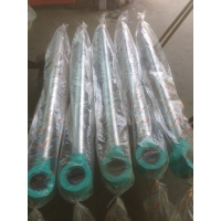 Quality sk200-8 bucket hydraulic cylinder rod Kobelco construction machinery spare parts high quality cylinder for sale