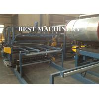 Buy Glass Wool Roofing Roll Forming Machine  970 Mineral Rock Wool Sandwich Panel at wholesale prices