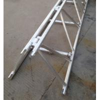 Buy Foldable Stage Lighting Truss 760mm X 660mm Silver / Black Color For Outdoor Performance at wholesale prices