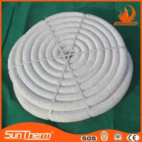 Quality Thermal insulation ceramic fiber rope for sale