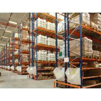 Quality 5 Levels Box Beam Warehouse Pallet Racking Systems For Cold Room ISO Approval for sale
