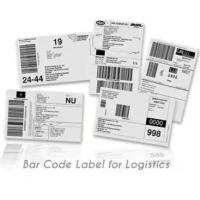 Quality Anti Counterfeit Logistic Labels , Adhesive Thermal Label Sticker for sale