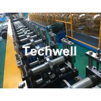 Quality Galvanized Steel Profile Roller Shutter Door Guide Rail Cold Roll Forming Machine for sale