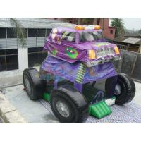Quality Monster Truck Bounce House for sale