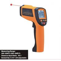 Industrial Infrared temperature Tester, Digital Laser Infrared Thermometer, Thermodetector IR2200 for sale