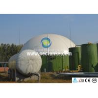 Quality Bolted Glass Fused to Steel Waste Water Storage Tanks Large Volume for sale