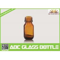 Quality Wholesale 20ml Amber Glass Bottle For Liquid Medicine for sale