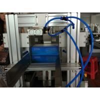 Quality Semi automatic facial tissue carton box sealing machine with conveyor belt for sale