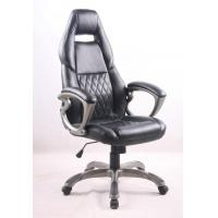Quality Black PU Porsche Racing Office Chair with Painting Armrest Executive Leather Office Chair for sale