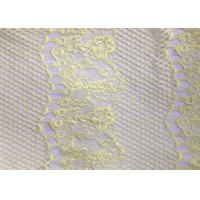 Buy Customized Color Fashion Lingerie Lace Fabric Beads / Rhinestones Decoration at wholesale prices
