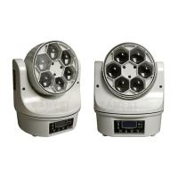 Buy 6pcs 25W RGBW LED Beam Moving Head Light , Mini Christmas Party Stage Led Lighting at wholesale prices