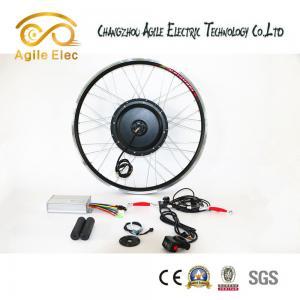 Quality Anti - Corrosion Black Brushless Hub Motor Kit 1000 Watt Low - Carbon Solution for sale