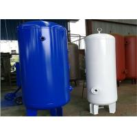 Buy Carbon Steel Low Pressure Air Tank , 1320 Gallon Volume Compressed Air Holding at wholesale prices