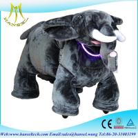 Quality Hansel electrical ride-on toy animal ride motorized plush riding animals for sale