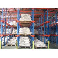 China Steel Adjustable Drive In Steel Warehouse Shelving , Pallet Racking Shelves 4000kg/Level on sale