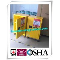 Buy Double Wall Construction Industrial Storage Cabinets / Chemical Storage Cupboards at wholesale prices