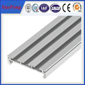 Quality 6063 T5 led aluminum profile 3~6m anodized/powder coating aluminium u tube/channel for sale