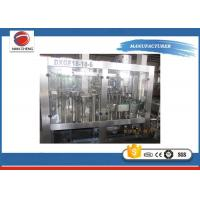 Quality Plastic Bottle Carbonated Drinks Filling Machine PLC + Touch Screen 13KW 220V / 380V for sale