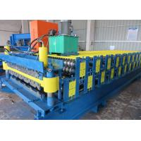 Quality Double Deck Profile Wall Roof Panel Roll Forming Machine Hydraulic Type for sale