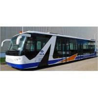 Quality Cummins Engine Airport Passenger Bus Shuttle Bus To The Airport With Aluminum Apron for sale