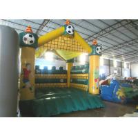 Buy Football Kids Inflatable Bounce House Castle Digital Printing 4 X 4m For Amusement Park at wholesale prices