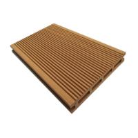Quality Water / Moisture Resistant Hollow Composite Decking With Wood Grain Finish 150mm*25mm for sale