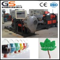 Buy Double Screw PVC Cable Plastic Granules Machine With Two Stage Components at wholesale prices