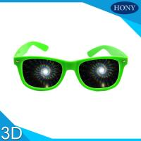 Buy Party 3D Diffraction Glasses spiral diffraction effect fireworks 3d glasses at wholesale prices