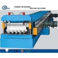 China 0.8-1.2mm 30KW Color Steel Metal Roll Forming Machine Floor Decking Tile Machine on sale