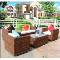 Hot Patio sofa sets design Outdoor garden PE Rattan wicker Furniture for sale