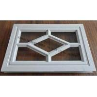China Short Run Metal Stamping Double Rectangular Plastic Window Frame on sale