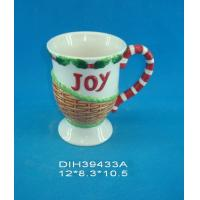 Quality Customized Environmental Sublimation Ceramic Mugs Wording Joy Printed For Home And Hotel for sale