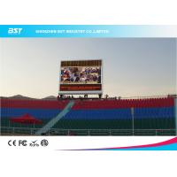 Quality P10 RGB Large Outdoor advertising Led Display Screens Anti - Moistrue & Corrosion for sale