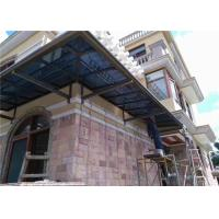Buy cheap Customized Aluminum Balcony Cover / Aluminum Porch Awnings Sturdy Windproof from wholesalers