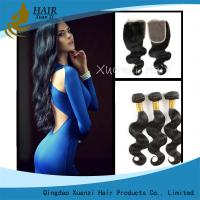 Quality Full Cuticle Unprocessed Malaysian Virgin Hair Extensions No Shedding 100g for sale