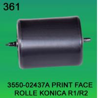 Quality 3550-02437A / 3550 02437A / 355002437A PRINT FACE ROLLER FOR KONICA R1,R2 minilab for sale