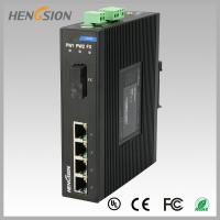 China 1.2Mpps Fiber Optical Network Switch , Din Rail Installed Outdoor Ethernet Switch on sale