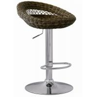 Quality Outdoor Furniture Rattan Bar Stools Adjustable Height SGS Standard for sale