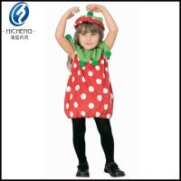 China 2013 Wholesale Costom strawberry chirldren Fancy Dress Costumes on sale