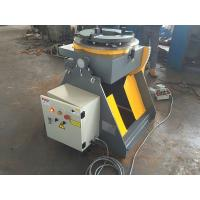 Quality Welding Turn Table Positioner With 3 Jaws Welding Chuck 2 Direction 90° Tilting for sale