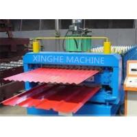 Quality Galvanized Metal Double Layer Roofing Sheet Roll Forming Machine / Roll Former Machinery for sale