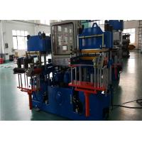 China Double Working Stations Rubber Vulcanizing Press Machine For Auto Parts Manufacturing 200 Ton Pressing Force on sale