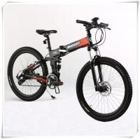 Quality 36V Folding Electric Bike 25 Km / H Max Speed Folding Electric Mountain Bike for sale