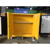 Buy 30 Gallon Chemical Safety Storage Cabinets For Flammable Liquids / Combustibles at wholesale prices
