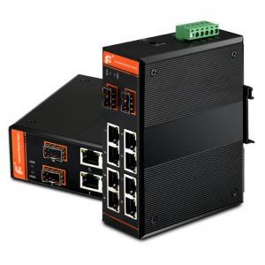 Quality Gigabit Central Ethernet Switch,Unmanaged,8x10/100/1000Base-TX + 2x1000Base-FX SFP for sale