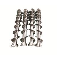 Injection Molding Machine Stainless Steel Screw 2-4 Mm Bimetallic Length for sale