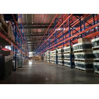 Quality Adjustable Height Durable Selective Pallet Storage Racks System Highly Improve Storage Space for sale