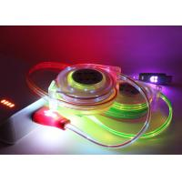 5 Color PVC 1M USB Extension Cable Micro Braided Mini LED Charger TPE Led Light For Smartphone